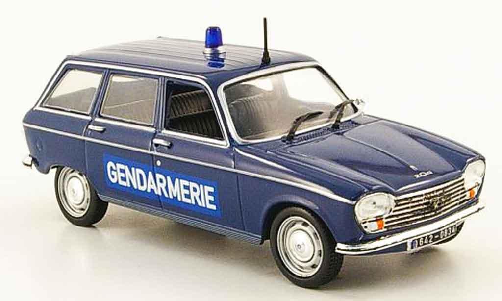 Peugeot 204 Break 1/43 Nostalgie gendarmerie 1969 miniature