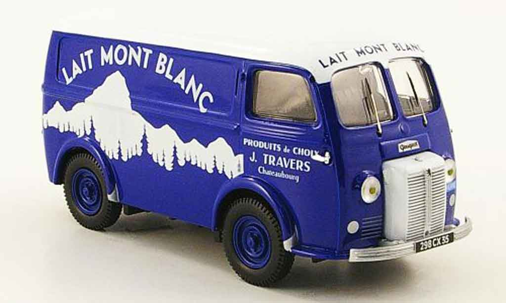 Peugeot D3A 1/43 Heritage kasten lait mont blanc lieferwagen miniature