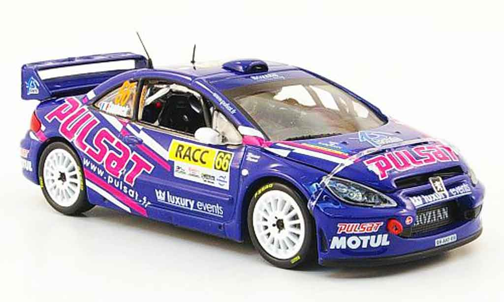 Peugeot 307 WRC 1/43 Vitesse no.66 pulsat racc rallye catalunya 2009 diecast