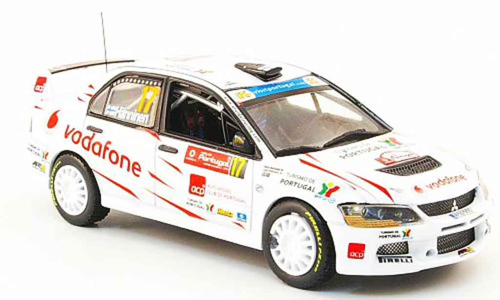 Mitsubishi Lancer Evolution IX 1/43 Vitesse No.17 IRC Rally de Portugal 2008 miniature
