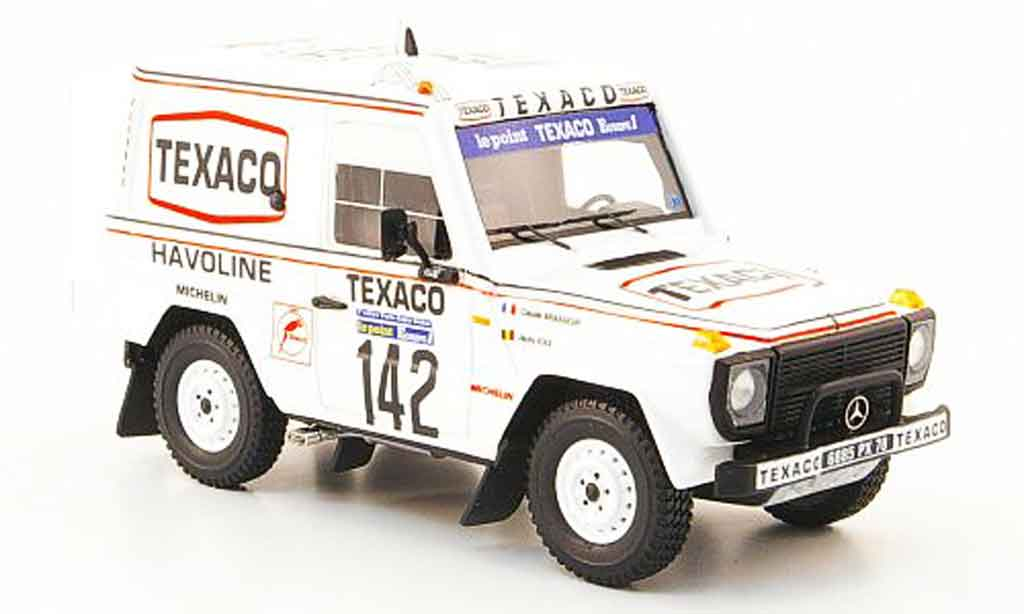 Mercedes 280 1983 1/43 Spark 1983 GE No.142 Texaco Sieger Paris Dakar 1983 miniature