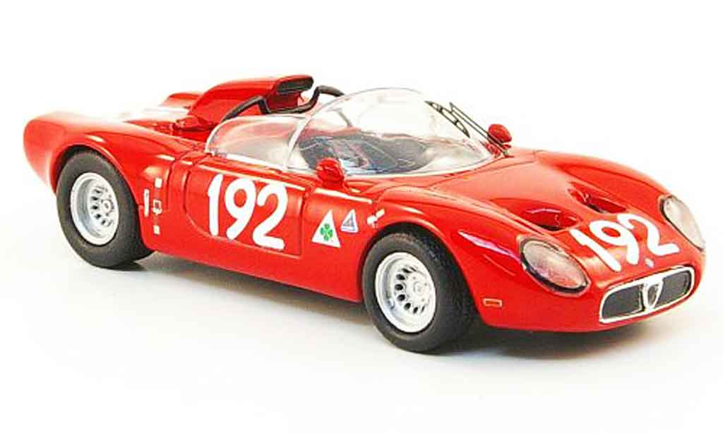 Alfa Romeo 33.2 1967 1/43 M4 fleron no.192 targa florio miniature