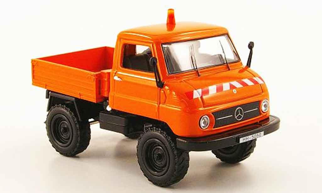 Mercedes Unimog 1/43 Norev U411 Pritsche Kommunal miniature