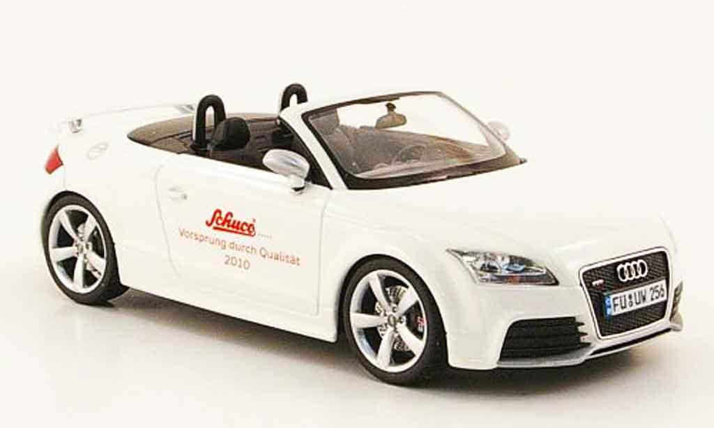 Audi TT RS 1/43 Schuco Roadster blanche miniature
