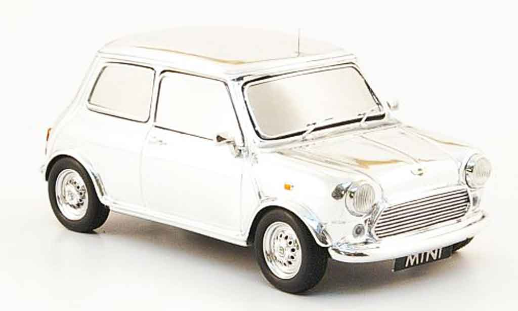 Austin Mini Cooper 1/43 Spark Chrome David Bowie diecast model cars