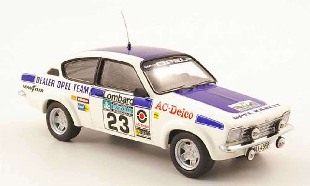Opel Kadett C 1/43 Schuco Coupe No.23 RALombarRally 1974 miniature