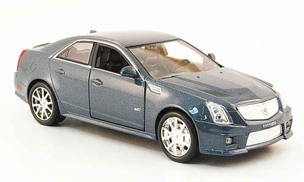 Cadillac CTS 1/43 Luxury Die Cast V grise 2009 miniature