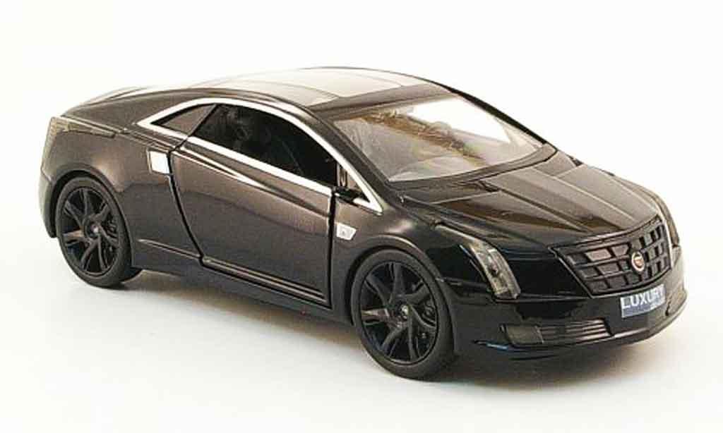Cadillac Converj 1/43 Luxury Die Cast Concept noire Blackout Edition 2009