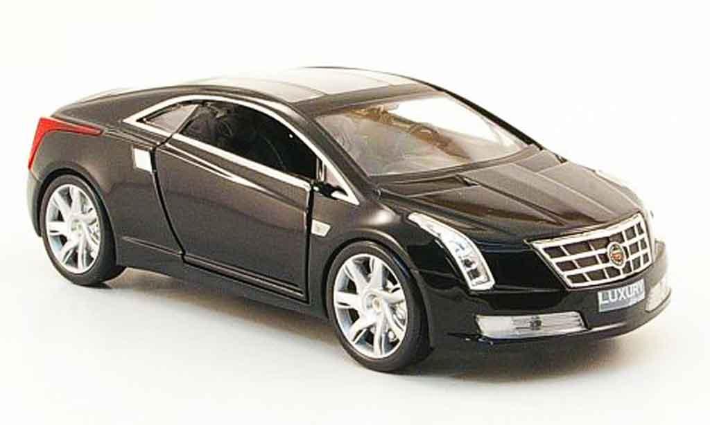 Cadillac Converj 1/43 Luxury Die Cast Concept noire 2009 miniature