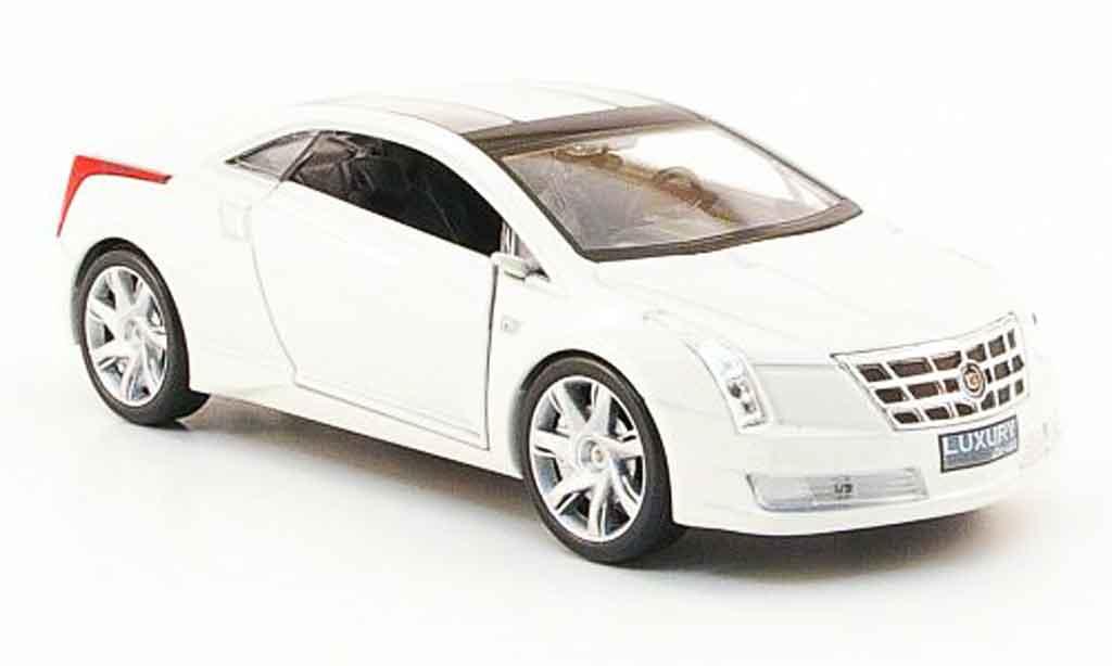 Cadillac Converj 1/43 Luxury Die Cast Concept blanche 2009 miniature