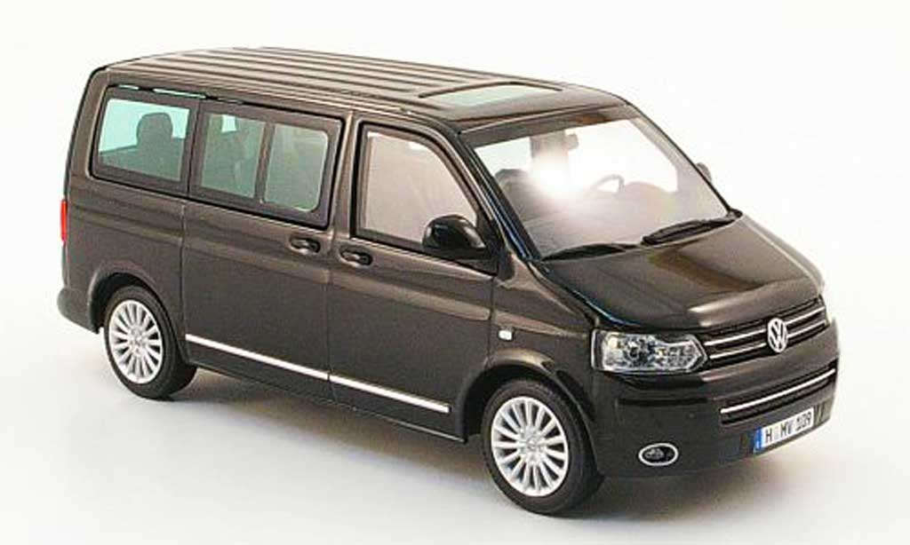 Volkswagen T5 1/43 Minichamps Multivan noire 2009