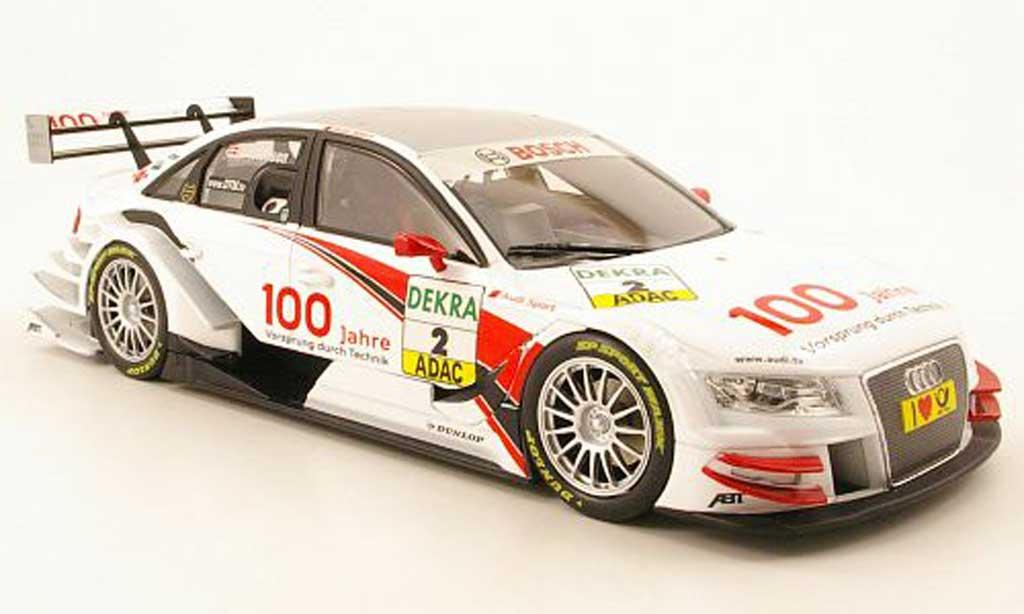 Audi A4 DTM 1/18 Norev no.2 100 jahre audi dtm saison 2009 modellautos