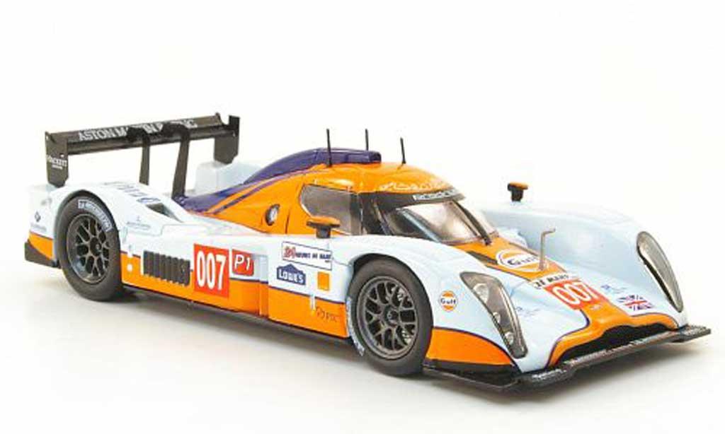 Aston Martin LMP1 1/43 Norev No.007 Racing 24h Le Mans 2010 miniature