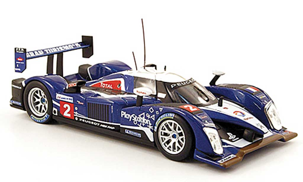 Peugeot 908 2010 1/43 Norev HDi FAP No.2 Team Sport 24h Le Mans miniature