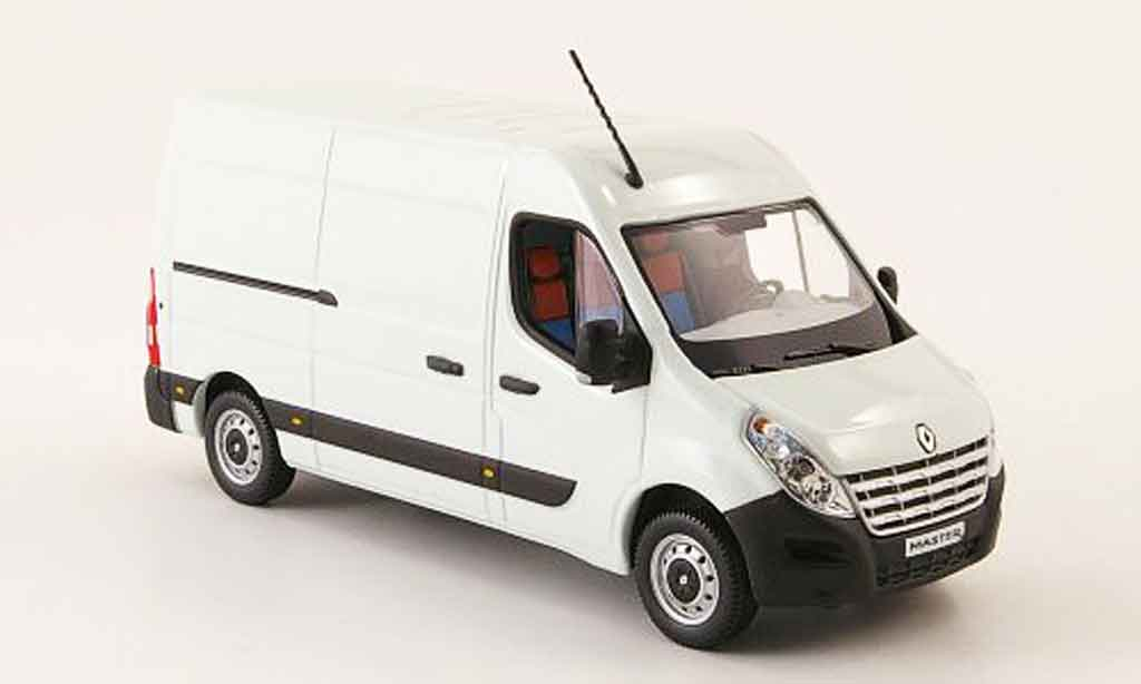 Renault Master 1/43 Norev blanche 2010 miniature