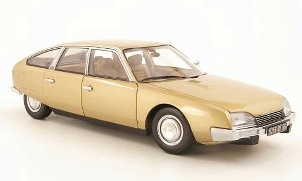 Citroen CX 1/18 Norev 2000 beige 1974 miniature