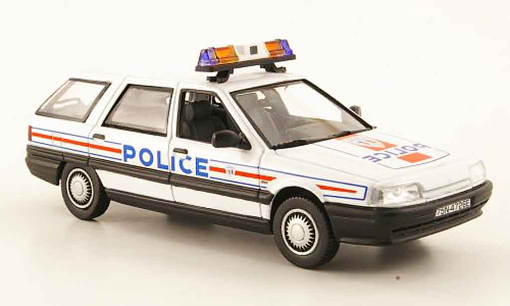 Renault 21 Nevada 1/43 Norev police nationale police frankreich 1989 miniature