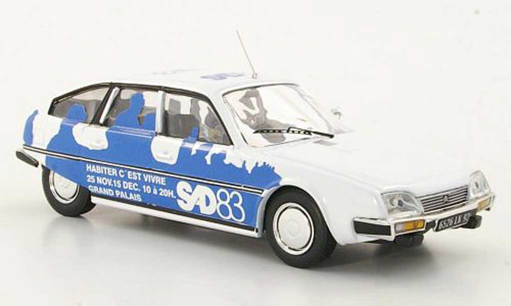 Citroen CX 1/43 IXO SAD - Salon des Artistes Decorateurs 1983 miniature