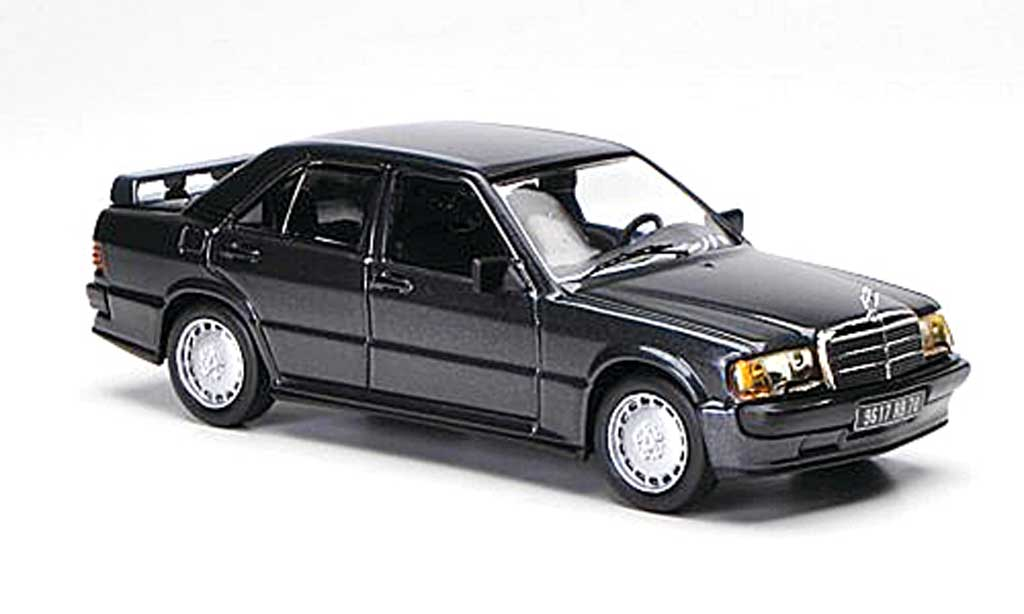 Mercedes 190 E 1/43 IXO 2.3-16V (W201) grey 1984 diecast model cars