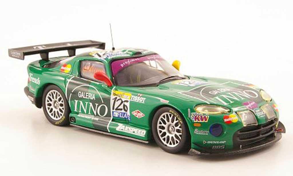 Dodge Viper GTS R 1/43 IXO No.126 Galeria Inno 24h Spa 2003 miniature