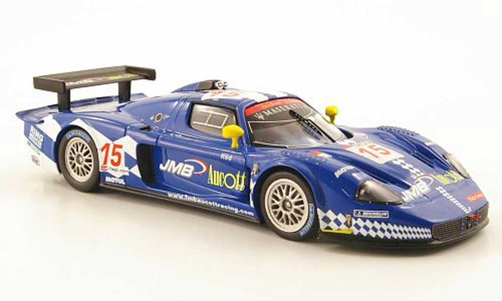 Maserati MC12 1/43 IXO No.15 JMB Aucott FIA GT 24h Spa 2008 diecast model cars
