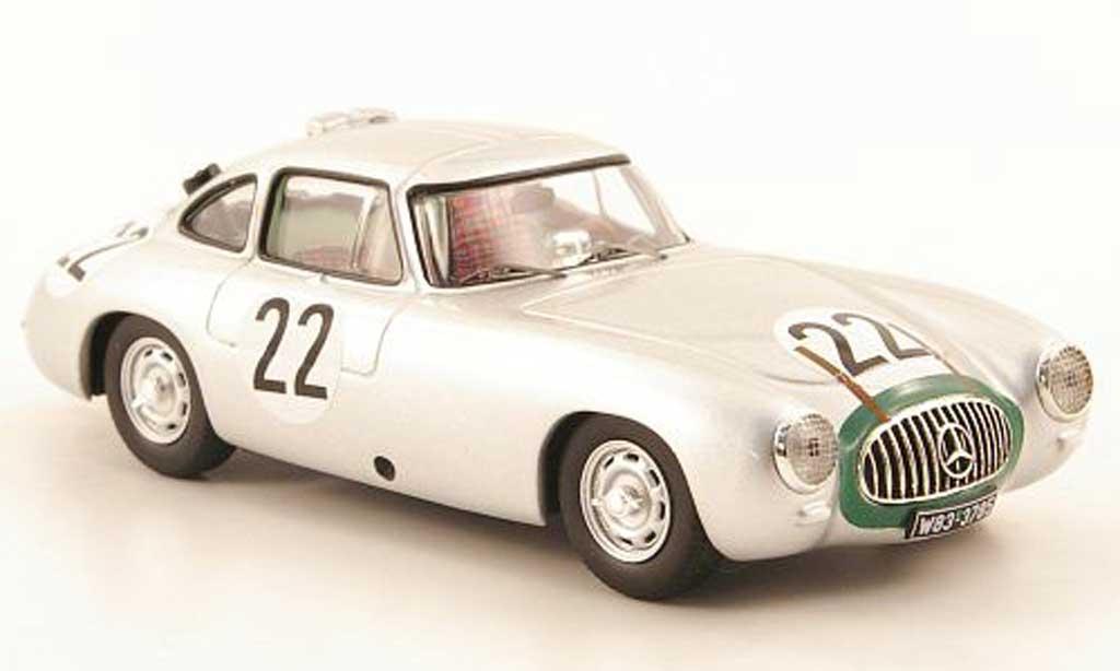 Mercedes 300 SL 1/43 IXO No.22 24h Le Mans 1952 K.Kling / H.Klenk coche miniatura
