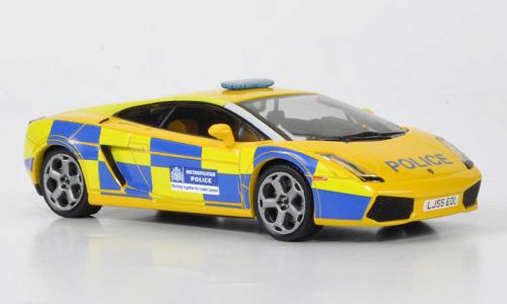 Lamborghini Gallardo 1/43 IXO UK Metropolitan Police 2006 diecast