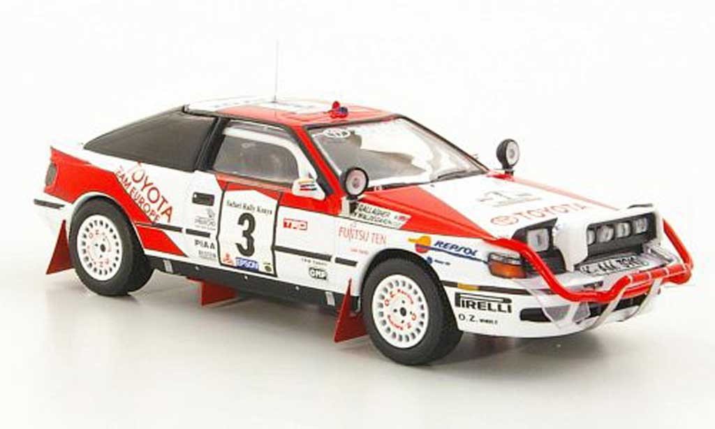 Toyota Celica GT Four 1/43 IXO 1990 4WD No.3 Repsol B.Waldegaard / F.Gallagher Safari Rally miniature