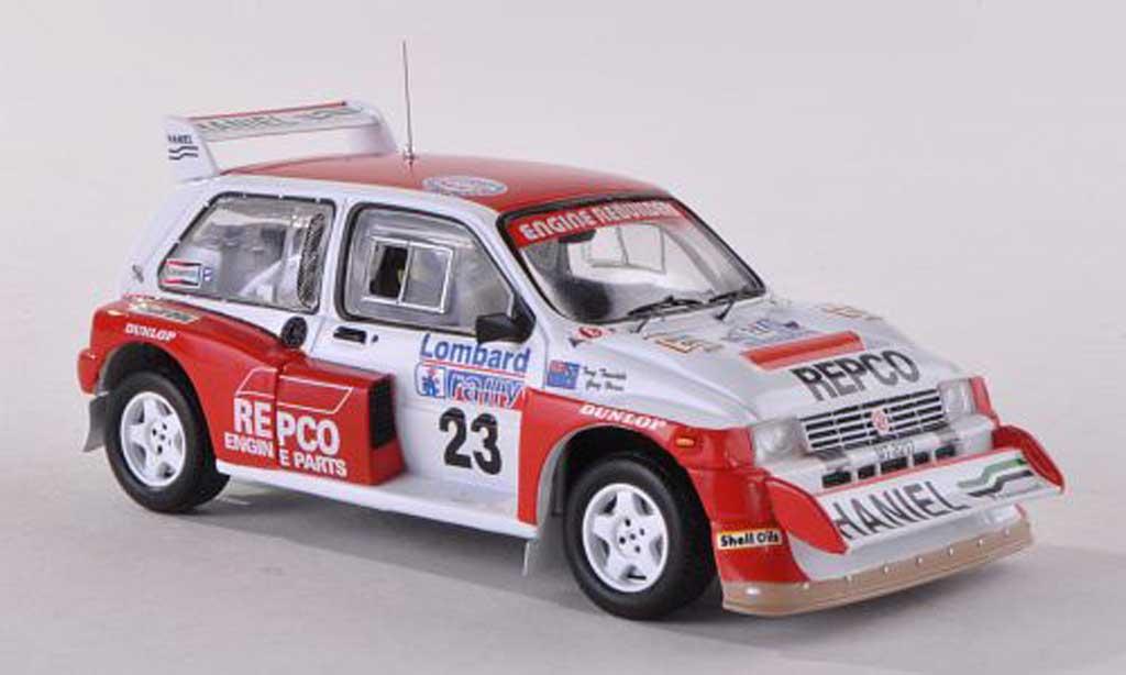 MG Metro 1/43 IXO 6R4 No.23 Repco Rally Grande-Bretagne 1986 Teesdale/Horne miniature