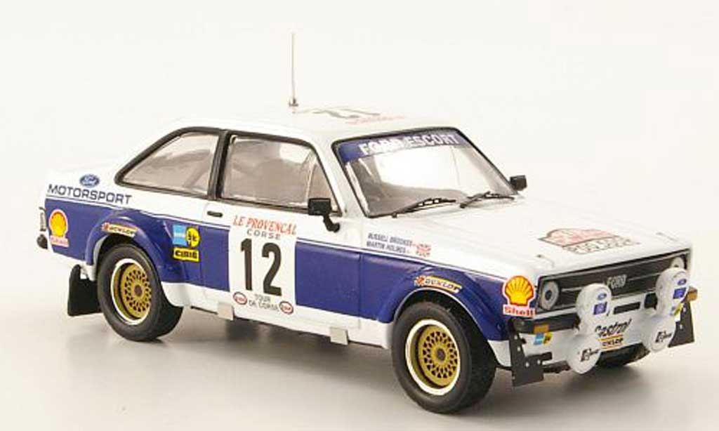 Ford Escort RS 1800 1/43 IXO No.12 Rally Korsika 1977 miniature