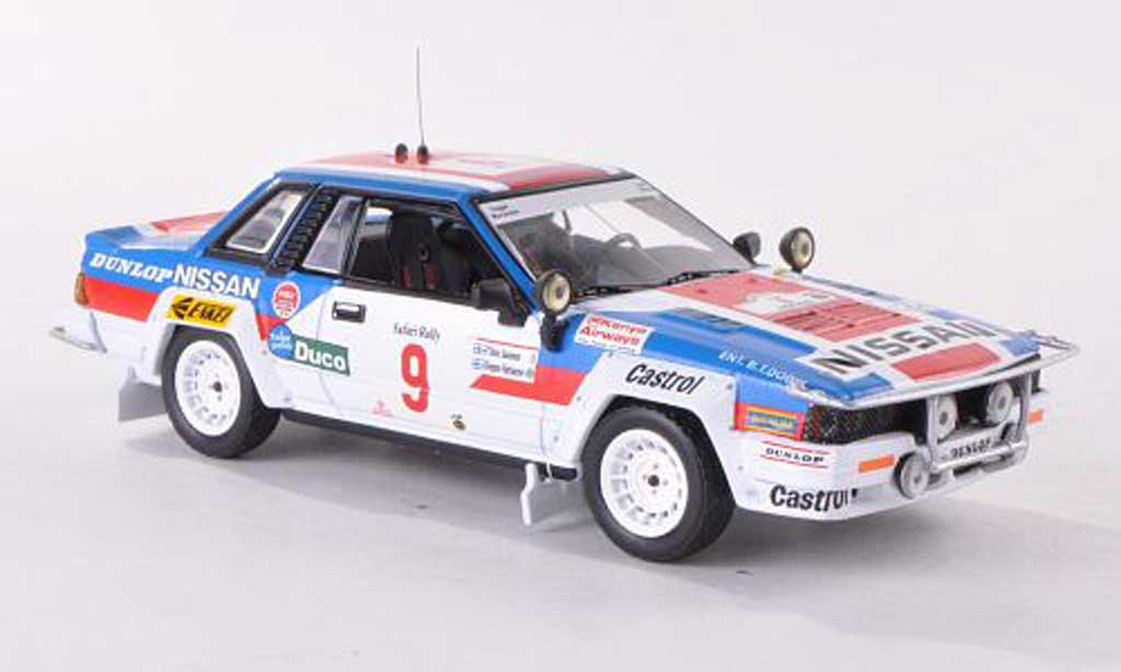 Nissan 240 RS 1/43 IXO No.9 Safari Rally 1984 T.Salonen/S.Harjanne miniature