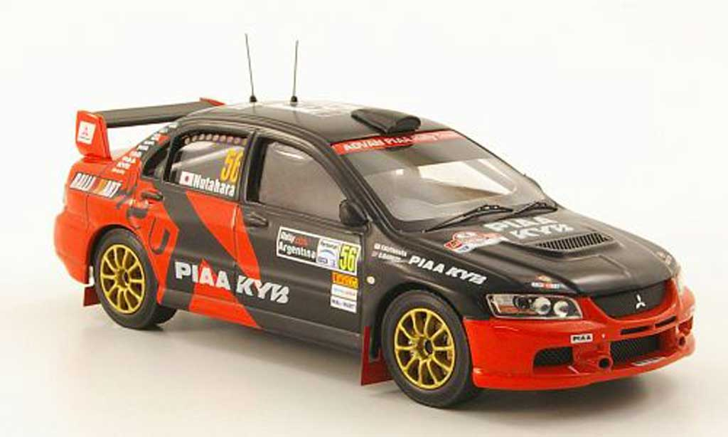 Mitsubishi Lancer Evolution IX 1/43 IXO No.56 PIAA Rally Argentinien 2008 miniature