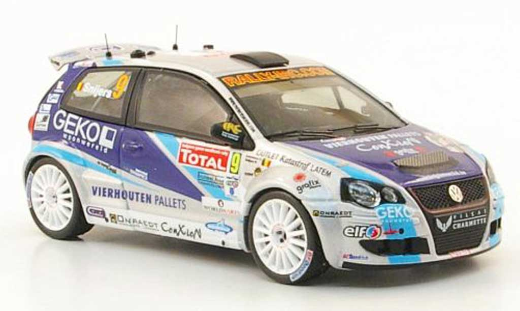 Volkswagen Polo 1/43 IXO S2000 No.9 Geko IRC Rally Ypres 2009 miniature