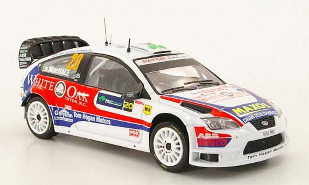 Ford Focus RS WRC 1/43 IXO WRC No.20 A.MacHale / K.Duffy Rally Irland 2009 diecast model cars