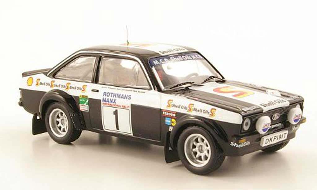 Ford Escort MK2 1/43 IXO No.1 S Oils Manx Rally 1982 miniature