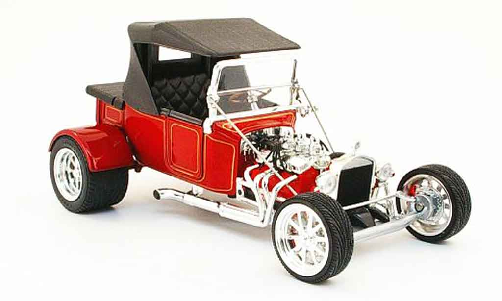 Ford Hot Rod 1/18 Yat Ming t-bucket rouge geschlossen 1923 miniature