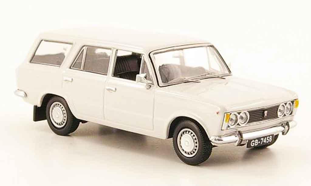 Fiat 125 1/43 IST Models Polski P Kombi grau 1973 modellautos