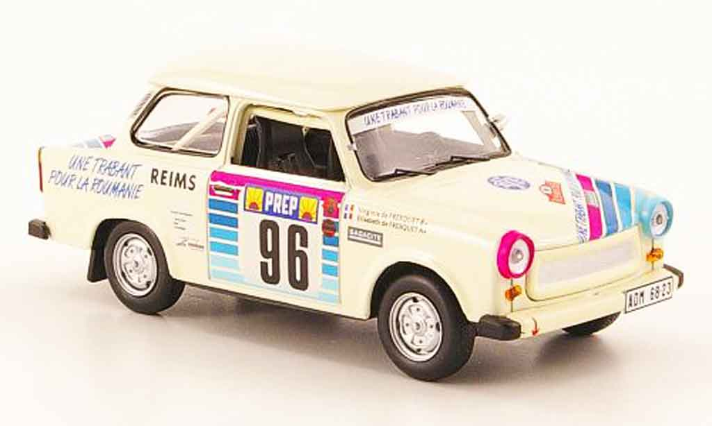 Trabant 601 1/43 IST Models No.96 Rally Monte Carlo 1992 miniature