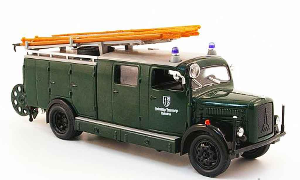 Magirus SLG 1/43 Yat Ming S 3000 Freiwillige pompier Mainleus 1941 miniature