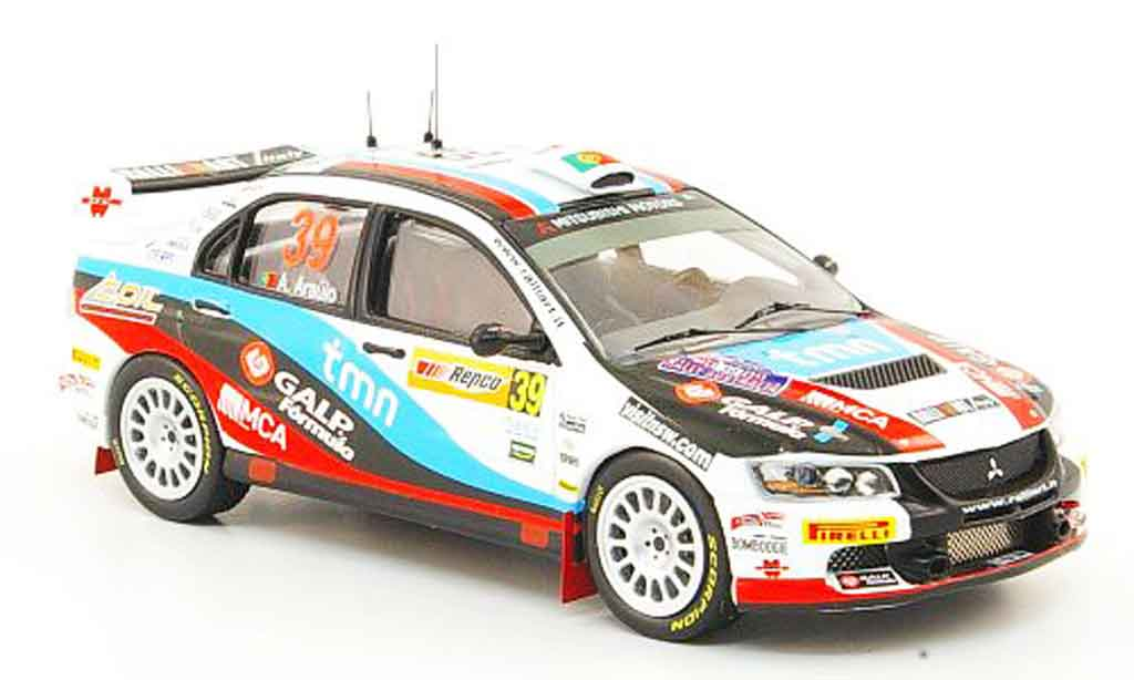 Mitsubishi Lancer Evolution IX 1/43 IXO No.39 Rally Australien 2009 miniature