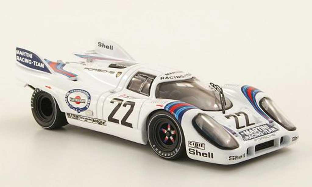 Porsche 917 1971 1/43 IXO No.22 Martini Marko/van Lennep 24h Le Mans miniature