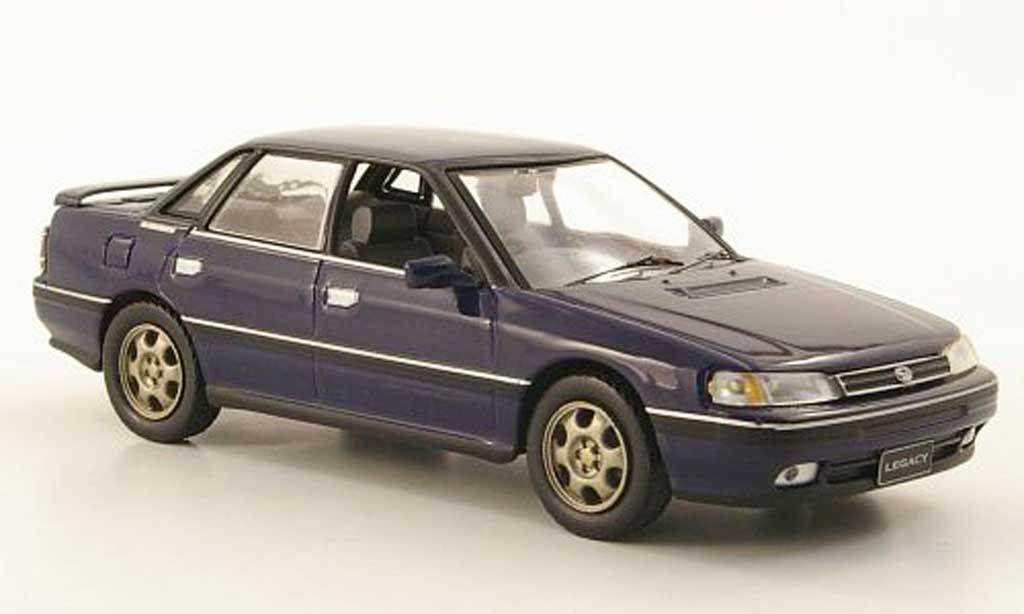 Subaru Legacy RS Turbo 1/43 IXO 2.0 bleu 1989 miniature