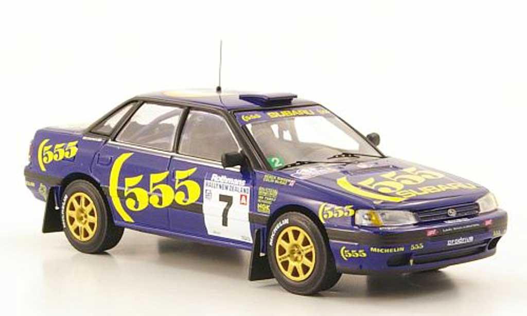 Subaru Legacy RS 1993 1/43 IXO No.7 555 McRae/Ringer Rally Neuseeland miniature
