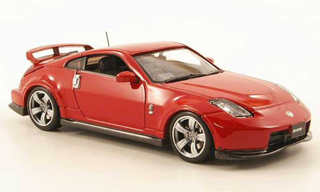Nissan 350Z 1/43 J Collection (Fairlady) Nismo 380 rouge 2003 miniature