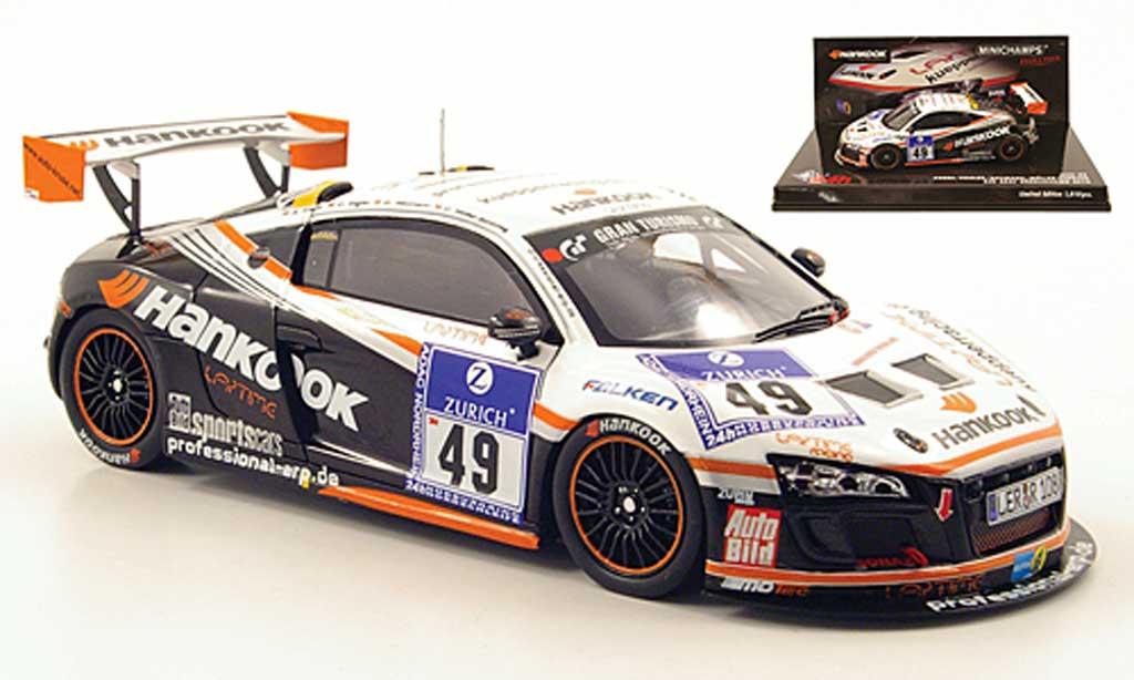 Audi R8 LMS 1/43 Minichamps No.49 24h Nurburgring 2010 miniature