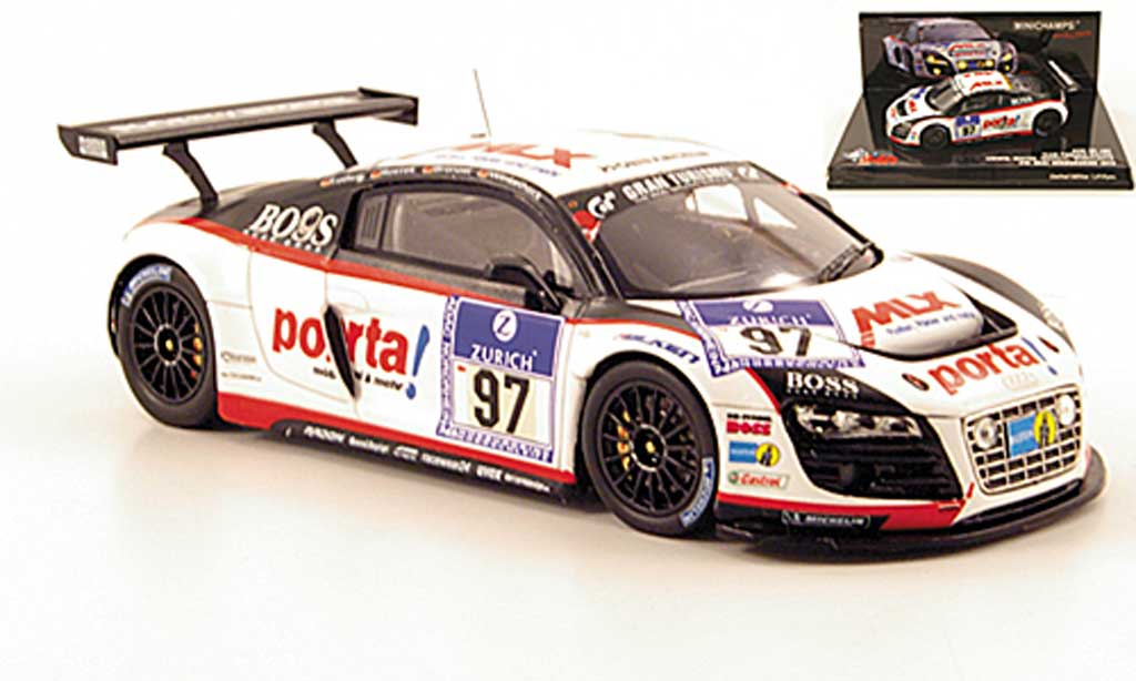 Audi R8 LMS 1/43 Minichamps No.97 Team Phonix 24h Nurburgring 2010 diecast