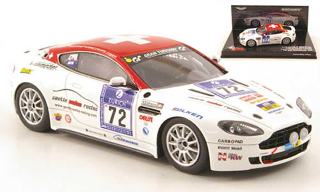 Aston Martin V8 1/43 Minichamps No.72 24h Nurburgring 2009 miniature