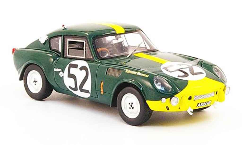 Triumph Spitfire 1/43 Spark No.52 24h Le Mans 1965 modellino in miniatura