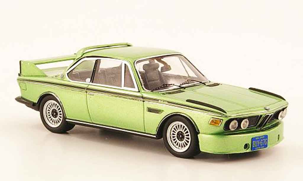 Bmw 3.0 CSL 1/43 Spark Batmobile verte 1973 miniature