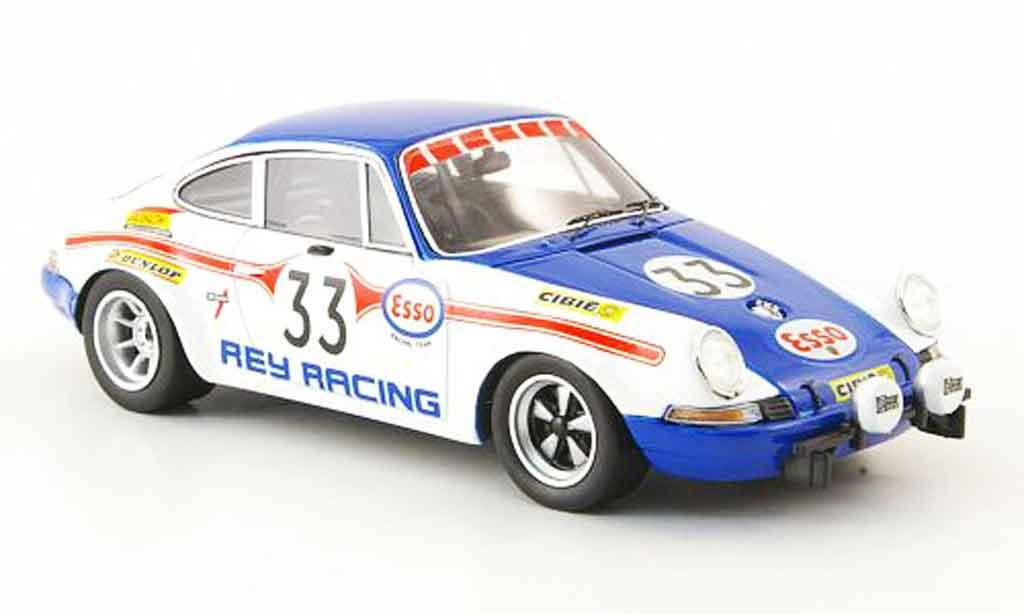 Porsche 911 1/43 Spark S No.33 24h Le Mans 1971 miniatura